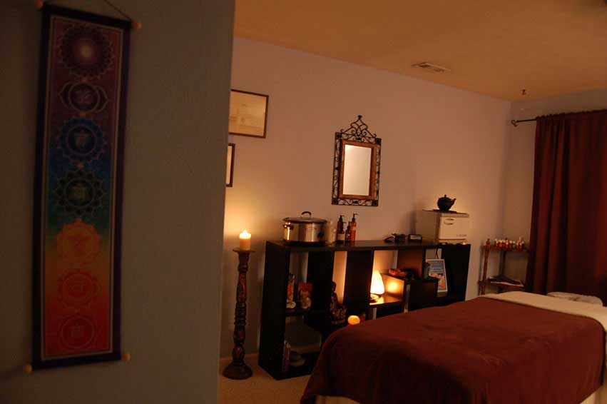 Treatment Room at Heavenly Embrace