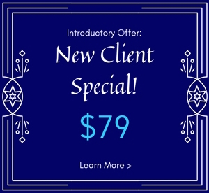 New client special for massage treatment